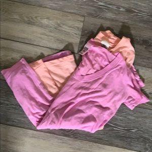 Victoria Secret v-neck sleepwear shirt